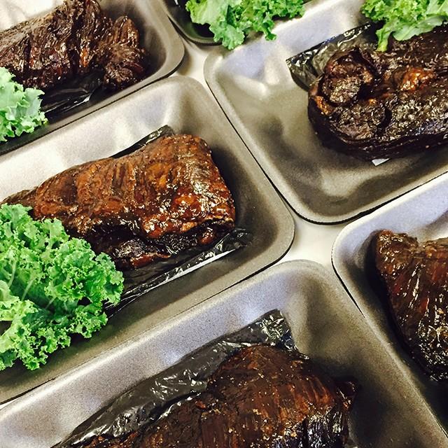 Marinated Beef London Broil - Black Nugget