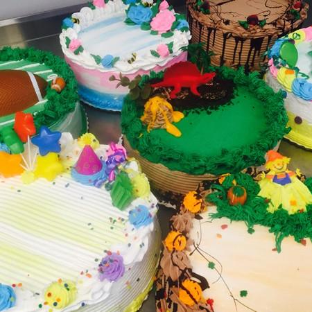 Home Made Ice Cream Cake