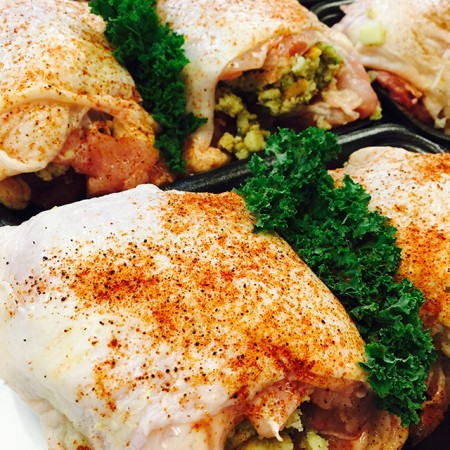 Stuffed Chickens