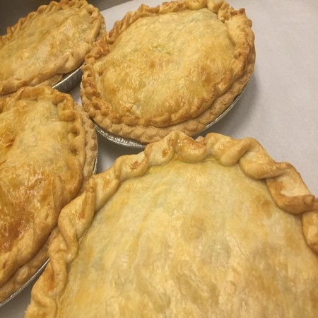 Beef and Chicken Pot Pies